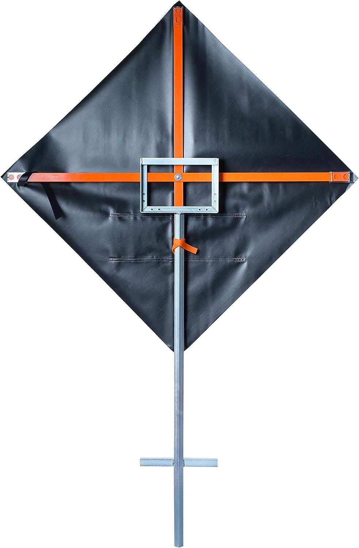 SafeZone Spring Metal Sign Stand//Holder for Road Construction