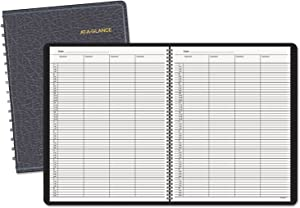 AAG8031005 - At-a-Glance Recycled Four-Person Group Undated Daily Appointment Book