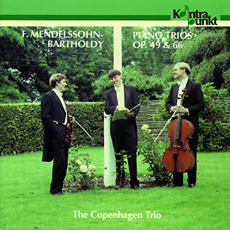 F  MENDELSSOHN BARTHOLDY - Piano Trios 1 & 2 - Amazon com Music