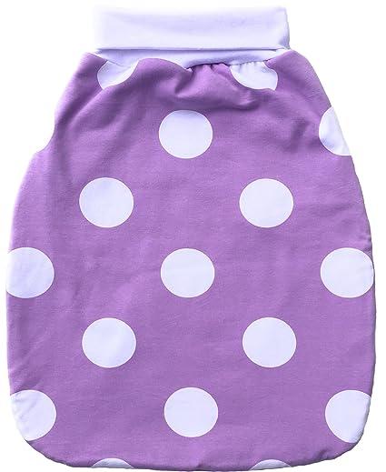 Saco de dormir Baby avispas Saco strampel Saco plisadas Lila para niña (Primavera/Verano