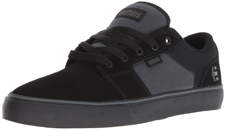 Etnies Barge LS Skate Shoe 12 D(M) US|Black/Grey/Black