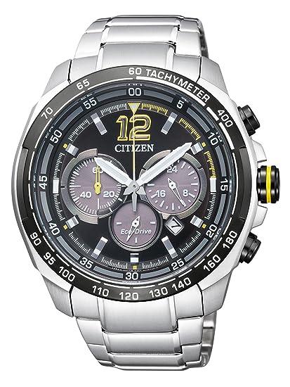 Citizen - Reloj de Pulsera para Hombre XL Cronógrafo Cuarzo Acero Inoxidable ca4234 - 51E: Amazon.es: Relojes