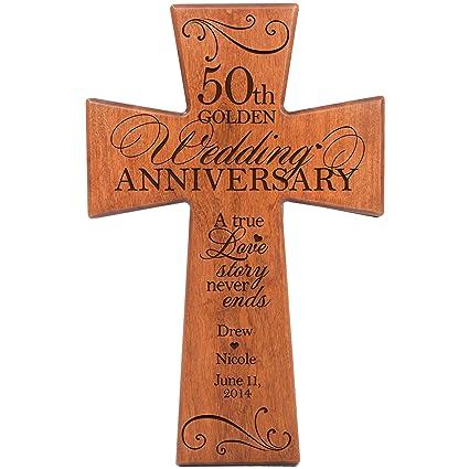 Amazon Com Lifesong Milestones Personalized 50th Wedding For