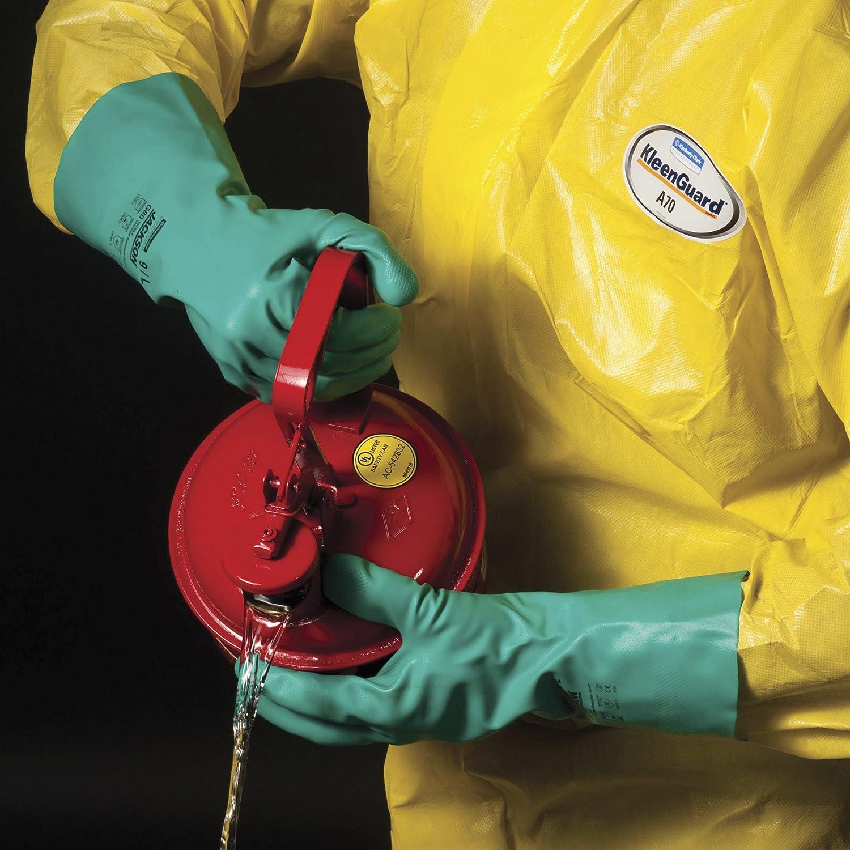 Black 18 Large Pack of 12 West Chester 1087RF Rough Grip PVC Interlock Gloves