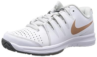Nike Schuhe Damen Damen Nike vapor court Whitemtlc rd brnz