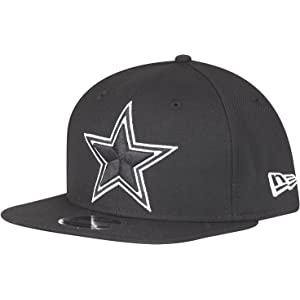 a6b2d6d7e New Era NFL Dallas Cowboys Black White Logo Snapback Cap 9fifty Limited  Edition