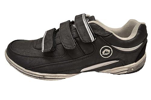 JHayber Chahimo - Zapatillas Casual de Piel para Hombre con Cierre de Velcro (44)