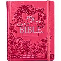 My Creative Bible KJV: Pink Hardcover Bible for Creative Journaling