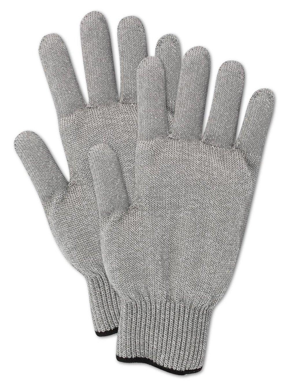 Magid CutMaster SP1036G Spectra Glove Ambidextrous 1 Glove Spectra//Fiberglass Blend Medium Weight Reversible ANSI Cut Level 7 Gray Size 9