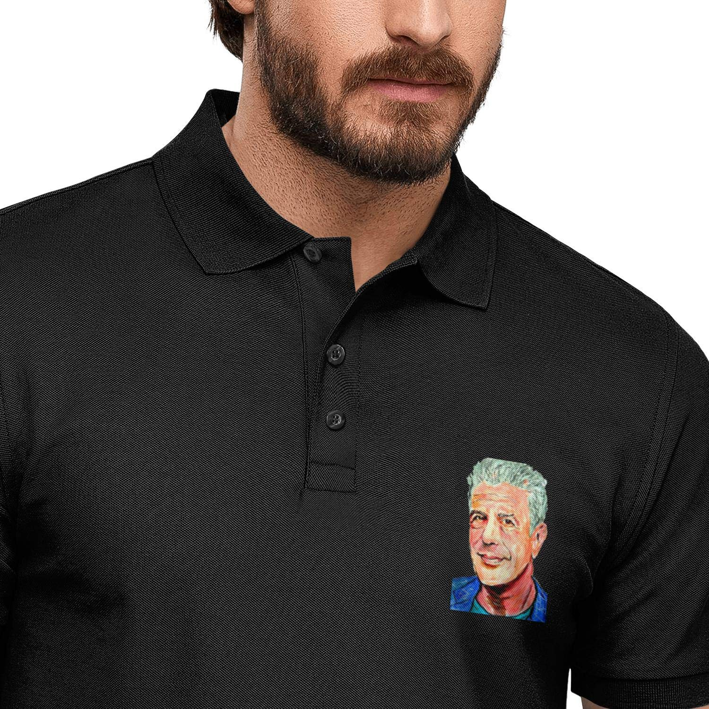 ELIBEZA Graphic T Shirt Polo for Men Fitted Mens Polo Tshirts Pretty Tee Shirts Polo