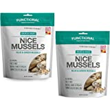 The Honest Kitchen Nice Mussels: Natural Human Grade Freeze Dried Dog Treats, Blue & Green Mussels, 4 oz