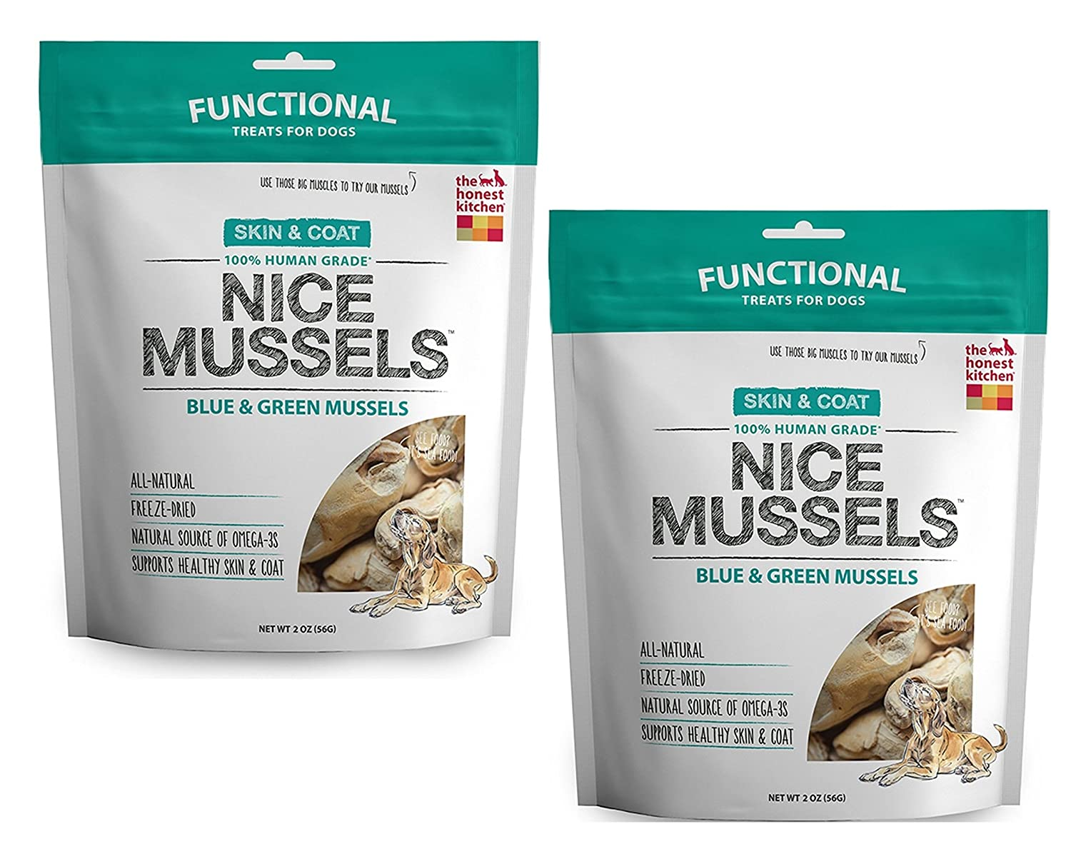 Amazon.com : The Honest Kitchen Nice Mussels: Natural Human Grade ...