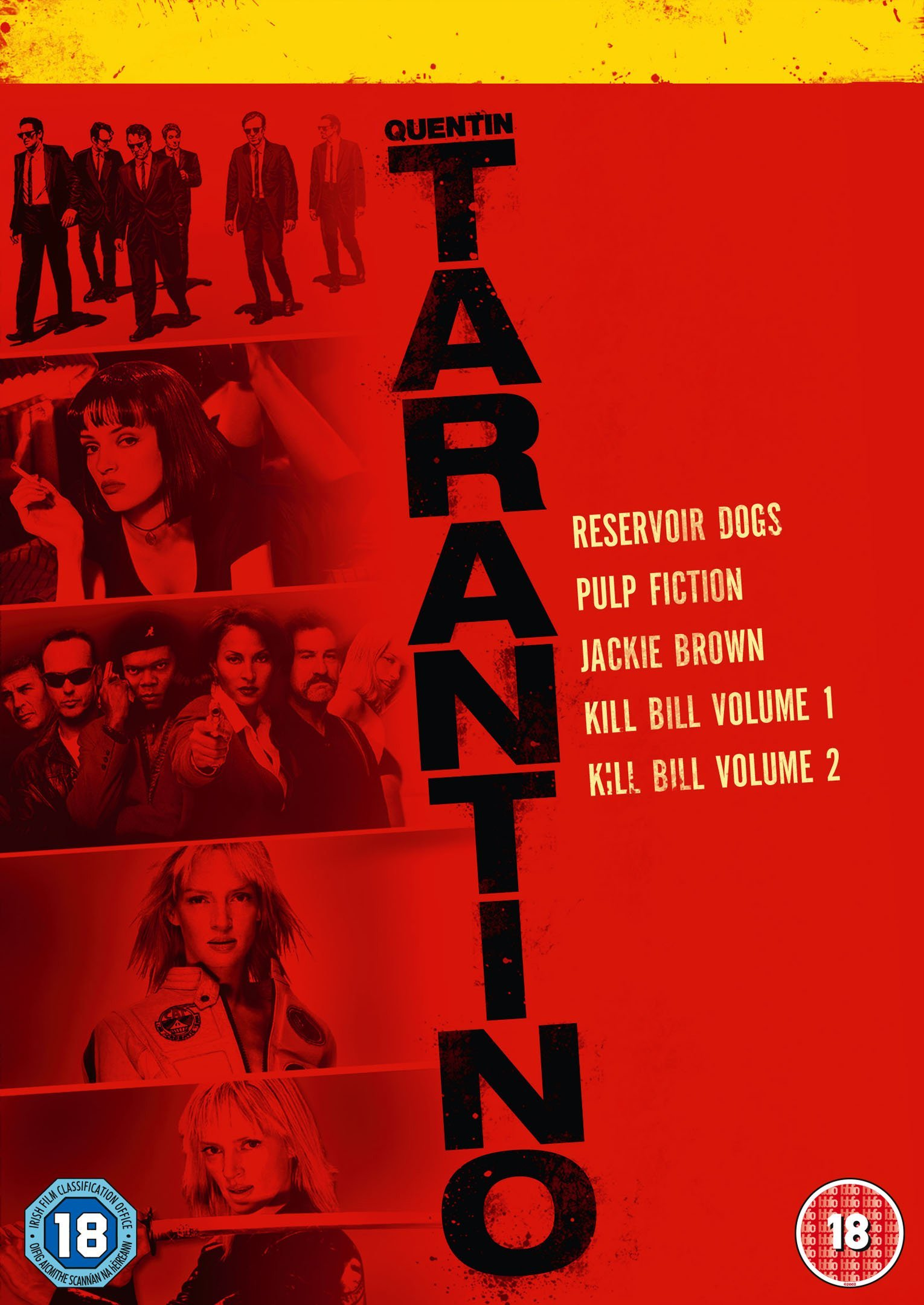 Quentin Tarantino Collection [DVD]