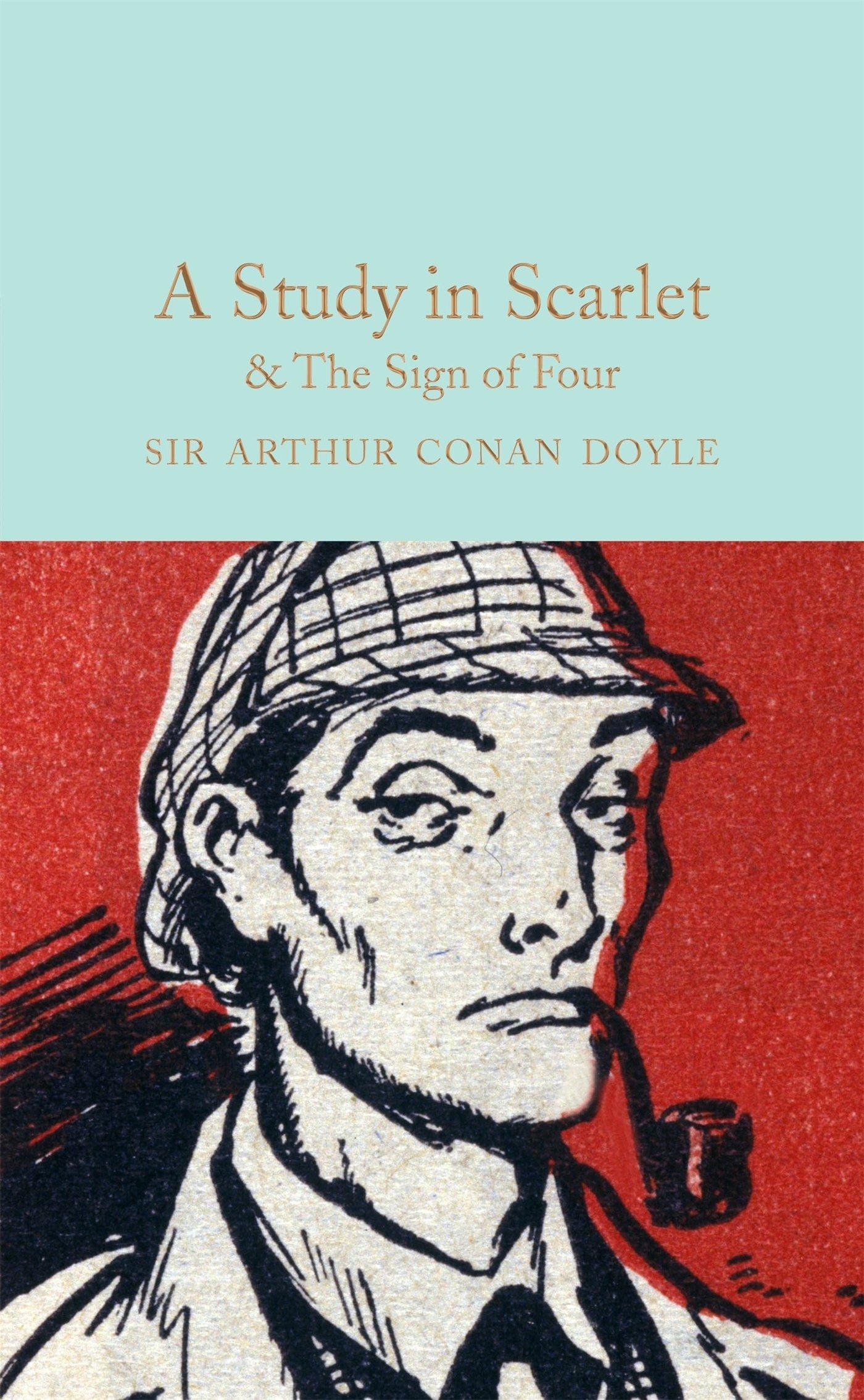 A Study In Scarlet The Sign Of The Four Macmillan Collector S Library Doyle Sir Arthur Conan Davies David Stuart 9781909621763 Amazon Com Books