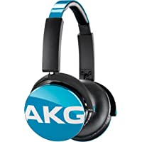 AKG Y50 耳机高级 DJ 风格蓝* Y50TEL 日本进口