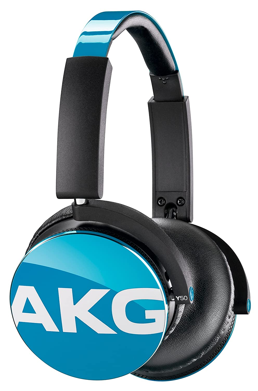 Amazon.com: AKG Y50 on ear headphones premium DJ-style teal blue ...