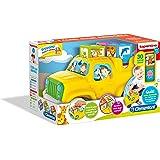 Clementoni Cubi degli Animali It Puzzle Incastro Prima Infanzia Giocattolo 599, Colori Assortiti, 12082