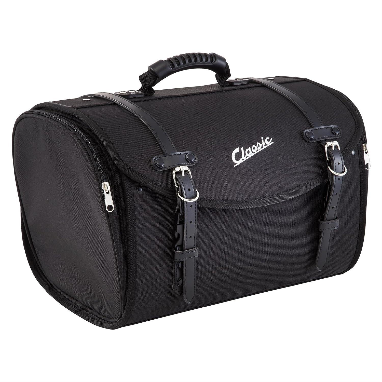 SIP, borsa, bauletto piccolo, adatta per portapacchi, 480 mm x 300 mm x 270 mm, circa 35 l, in nylon, nera SIP Style 1