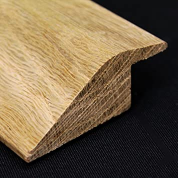 Solid Oak R& Threshold / Door Bar (20mm Rebate) Unfinished \u2026 (1M) & Solid Oak Ramp Threshold / Door Bar (20mm Rebate) Unfinished ...
