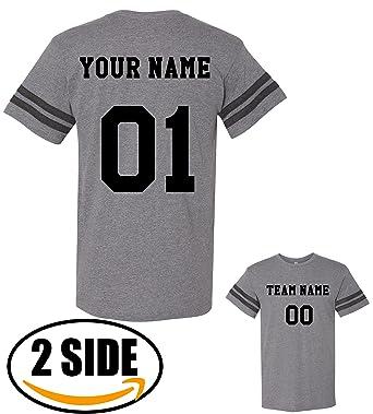 927fbc6c3f6 Amazon.com  TEEAMORE Men Custom Jersey