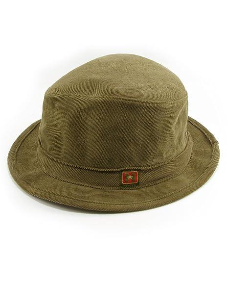Amazon.com  Hemp Corduroy Fedora Hat  Sports   Outdoors ca51a6c2db5