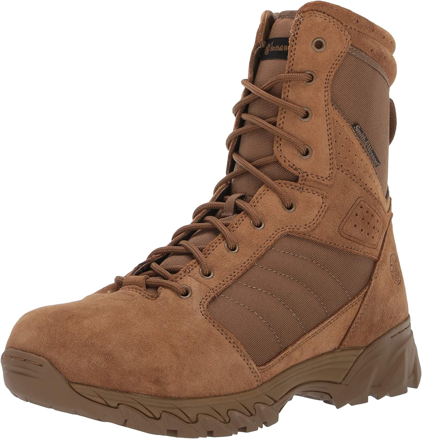 Smith /& Wesson Breach 2.0 Mens Tactical Waterproof Side-Zip Boots