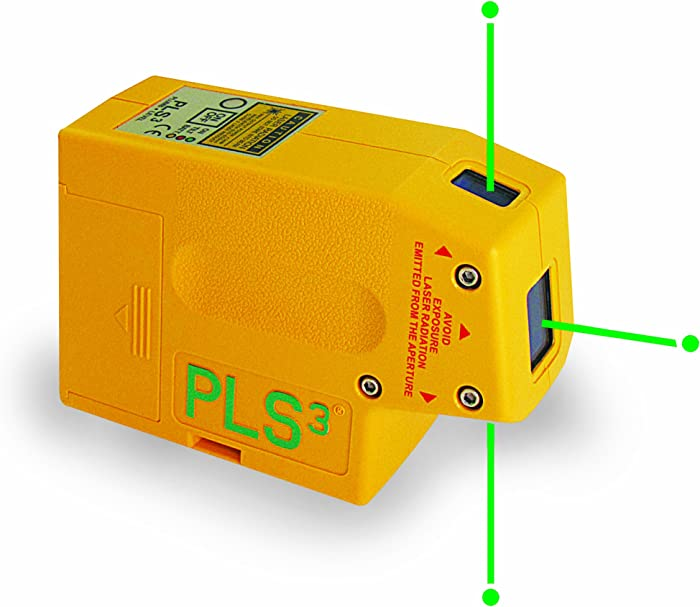 PLS3 3-Point Green Beam Laser Level Review