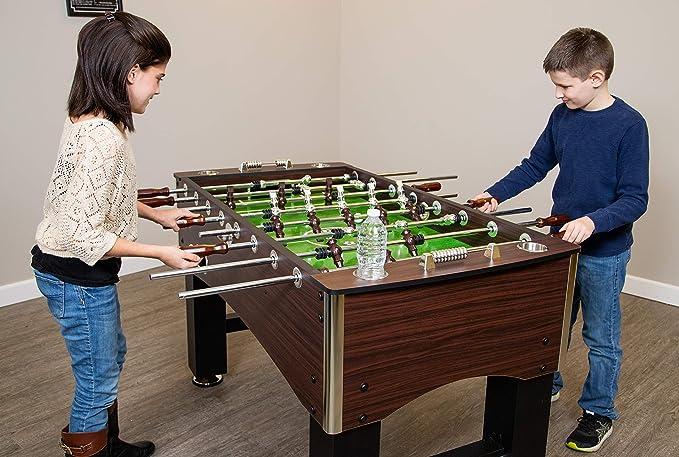 Hathaway (Primo futbolín, familia juego de fútbol con grano de madera acabado, Analógica y libre accesorios de puntuación: Amazon.es: Deportes y aire libre
