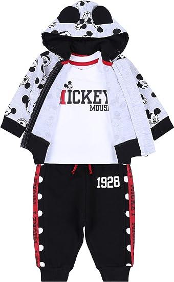 Conjunto de bebé Mickey Disney en Blanco y Negro: Amazon.es ...