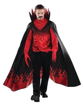 Christys Diable Deguisement Demon Adulte Halloween Amazonde