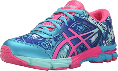 Zapatillas de running Gel-Noosa Tri 11 GS (Ni?o peque?o / Ni?o grande), Turquesa / Rosas fuertes / Asics Blue, 6.5 M US Big Kid: Amazon.es: Zapatos y complementos