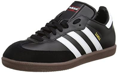 14637ae830150 adidas Originals Samba, Baskets mode homme, Blanc/Noir/Gomme: Amazon ...