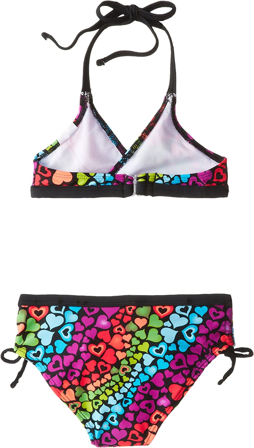 Big Chill Little Girls Heart Sequence Two Piece