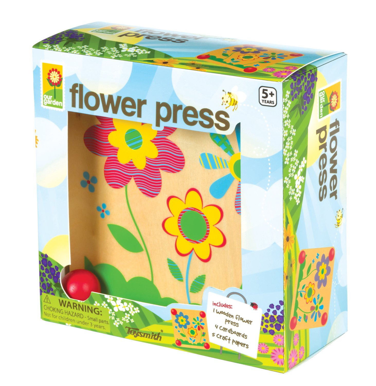 Amazon Toysmith Flower Press Kit Toys Games