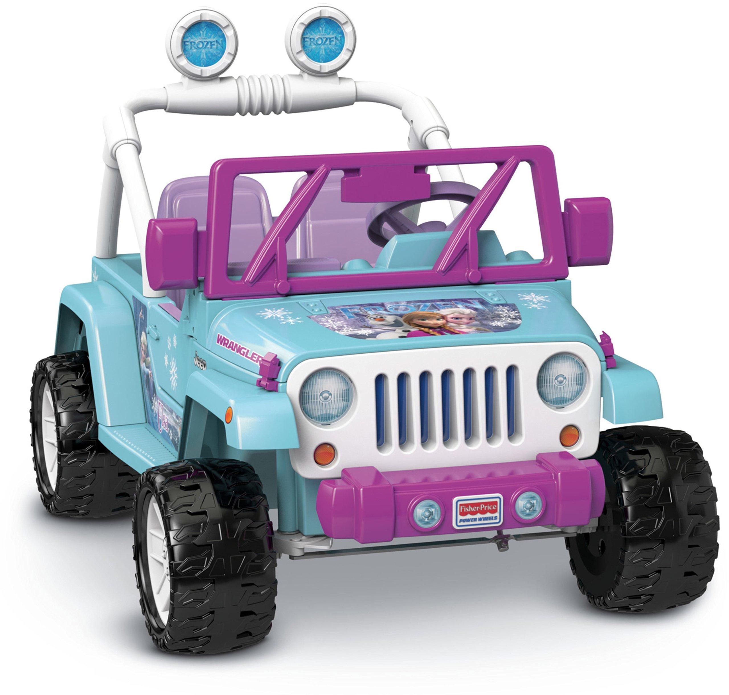 Power Wheels Disney Frozen Jeep Wrangler by Fisher-Price (Image #2)