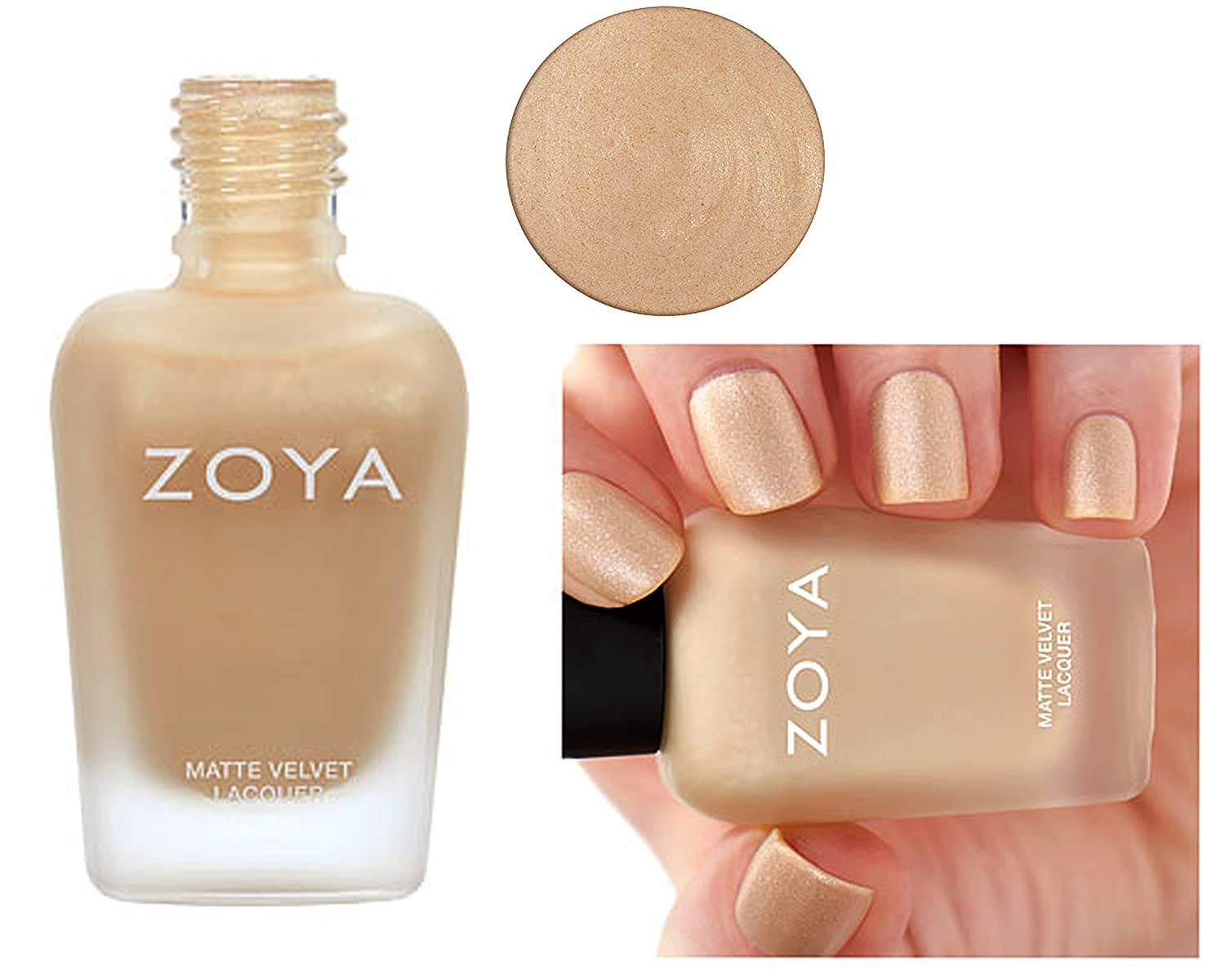 Amazon.com: Zoya Matte Nail Polish Velvet Limit Edition (Sue - ZP815 ...