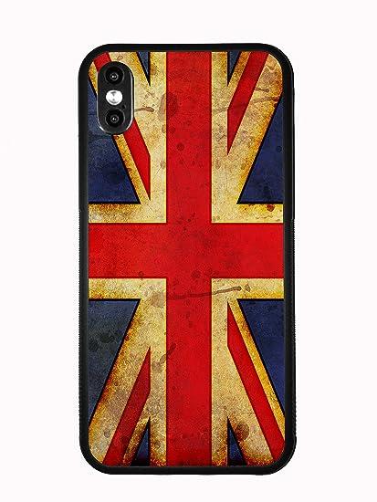 timeless design af3ba 1a2bb Amazon.com: British Flag Union Jack Grunge for iPhone Xs (2018 ...