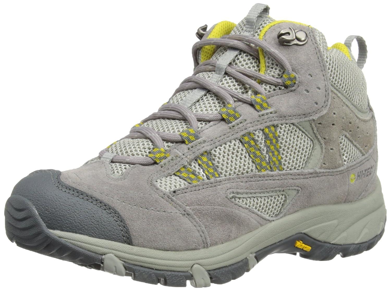 Hi Tec Harmony Lite Mid WP W` HTO001610 - Zapatillas de deporte de ante para mujer Gris/Amarillo 37 Hi-tec O001610/051/01