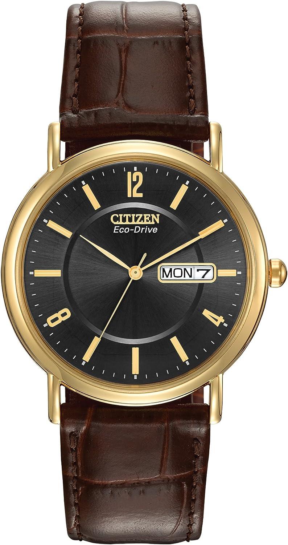 Citizen Watches BM8242-08E Eco-Drive Leather Watch