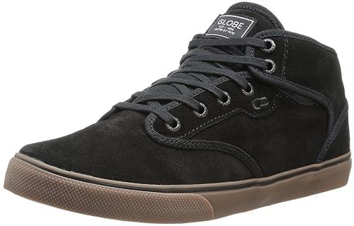 Globe Motley Mid de la Hombres Skate Zapatos, color negro, talla M US