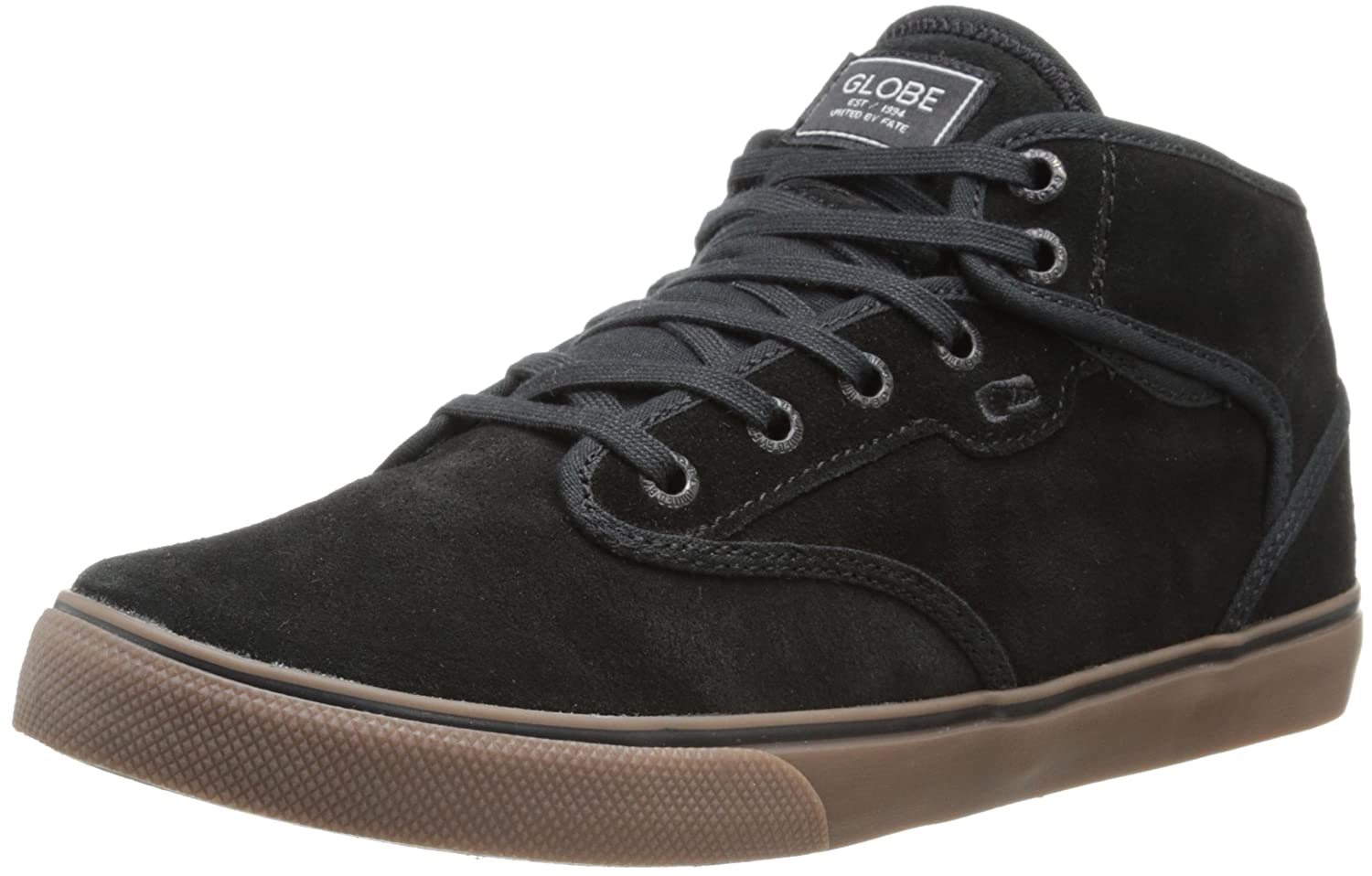Black Mid Skate Shoes