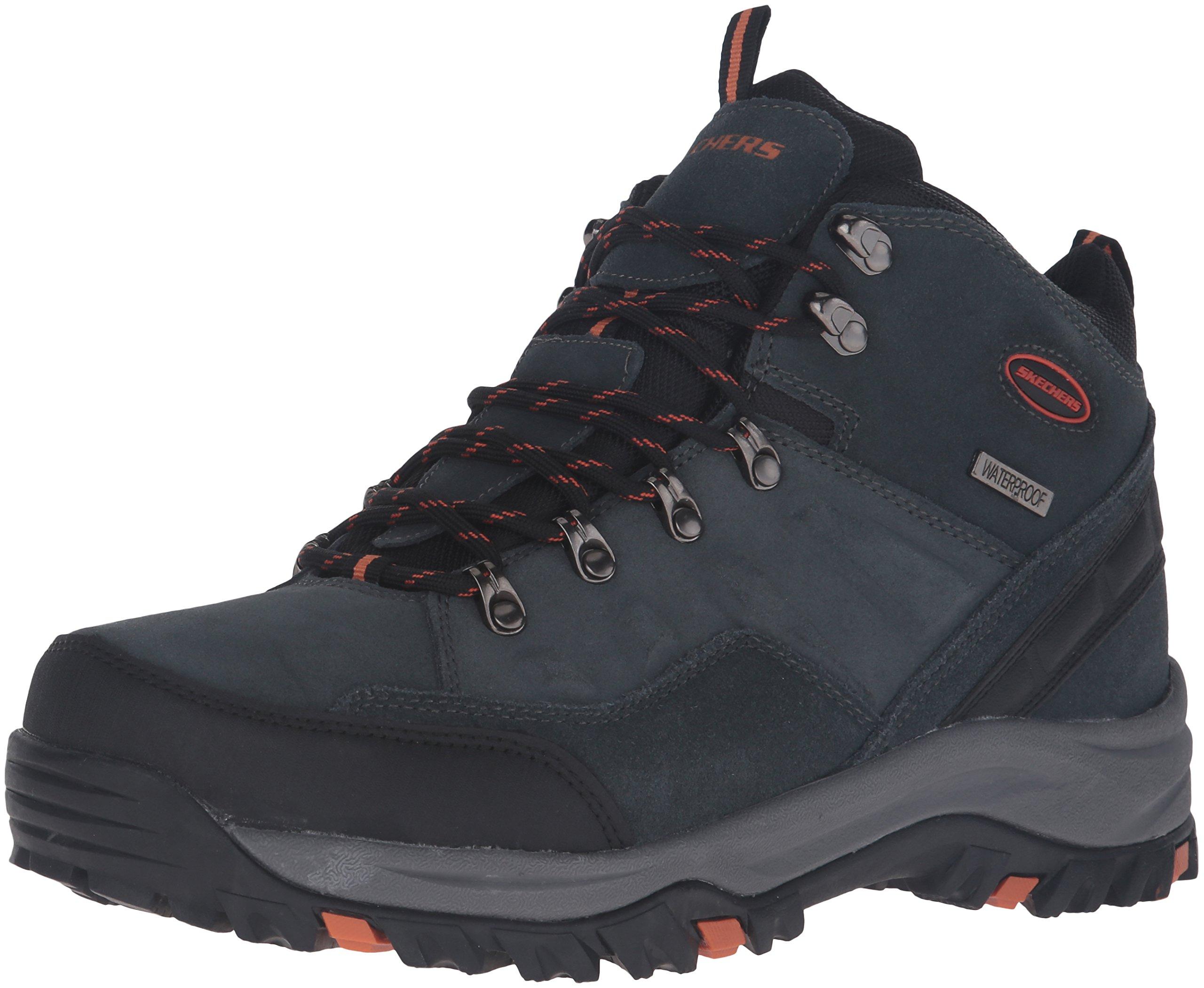 Skechers Men's Relment Pelmo Chukka Boot,Gray,12 M US