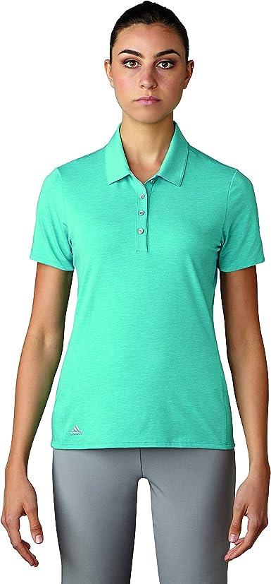 adidas Golf Mujer Essentials algodón Mano Polo de Manga Corta Camiseta: Amazon.es: Ropa y accesorios