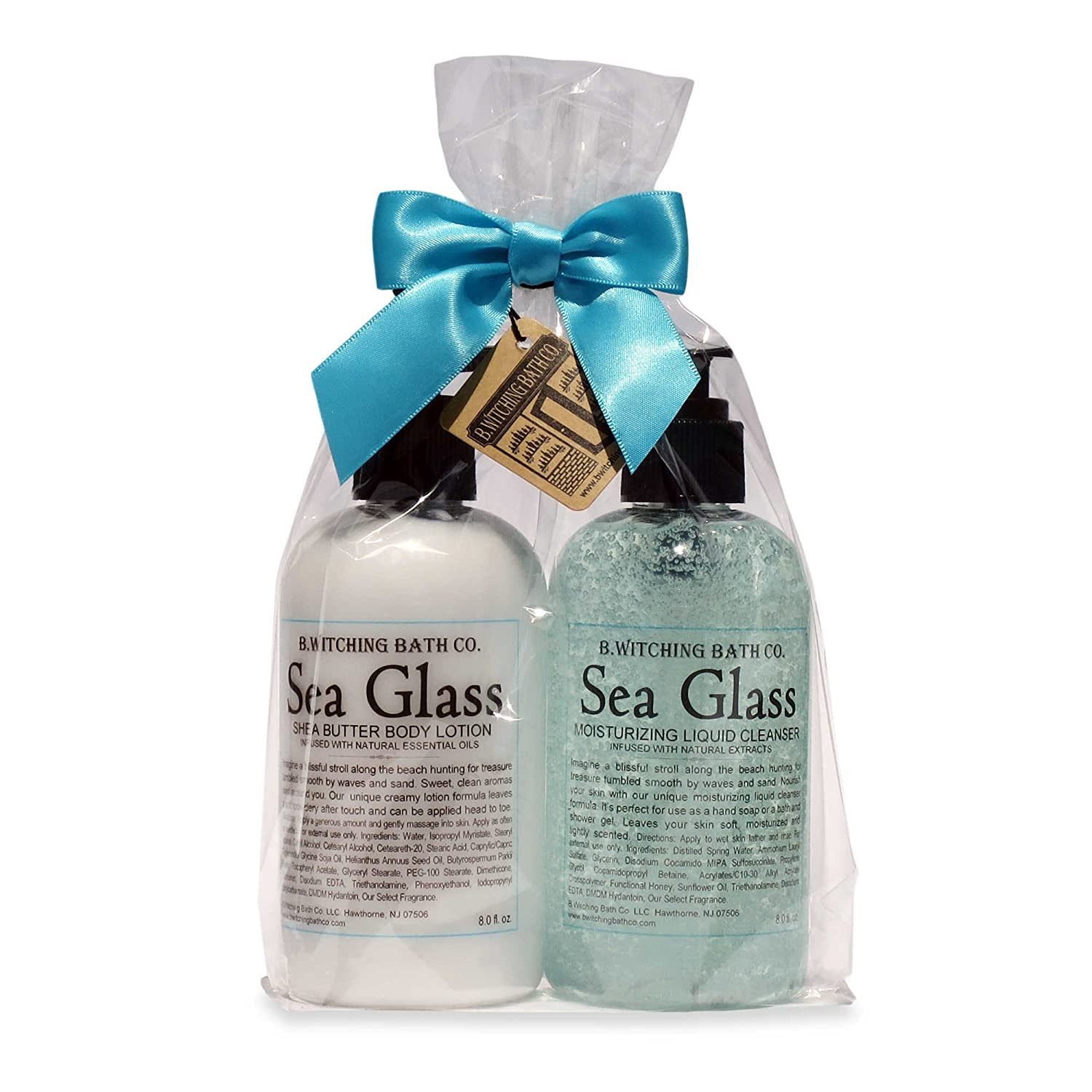 B. Witching Bath Co. Sea Glass Lotion and Liquid Cleanser Gift Set