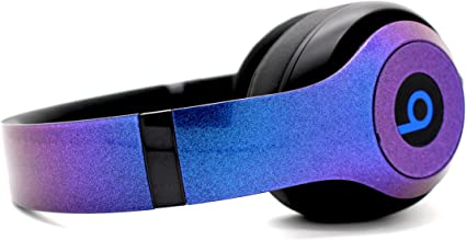 Amazon Com Beats By Dre Studio 3 Wireless Custom Painted Dr Dre Bluetooth Headset Chameleon Blue Purple Home Audio Theater