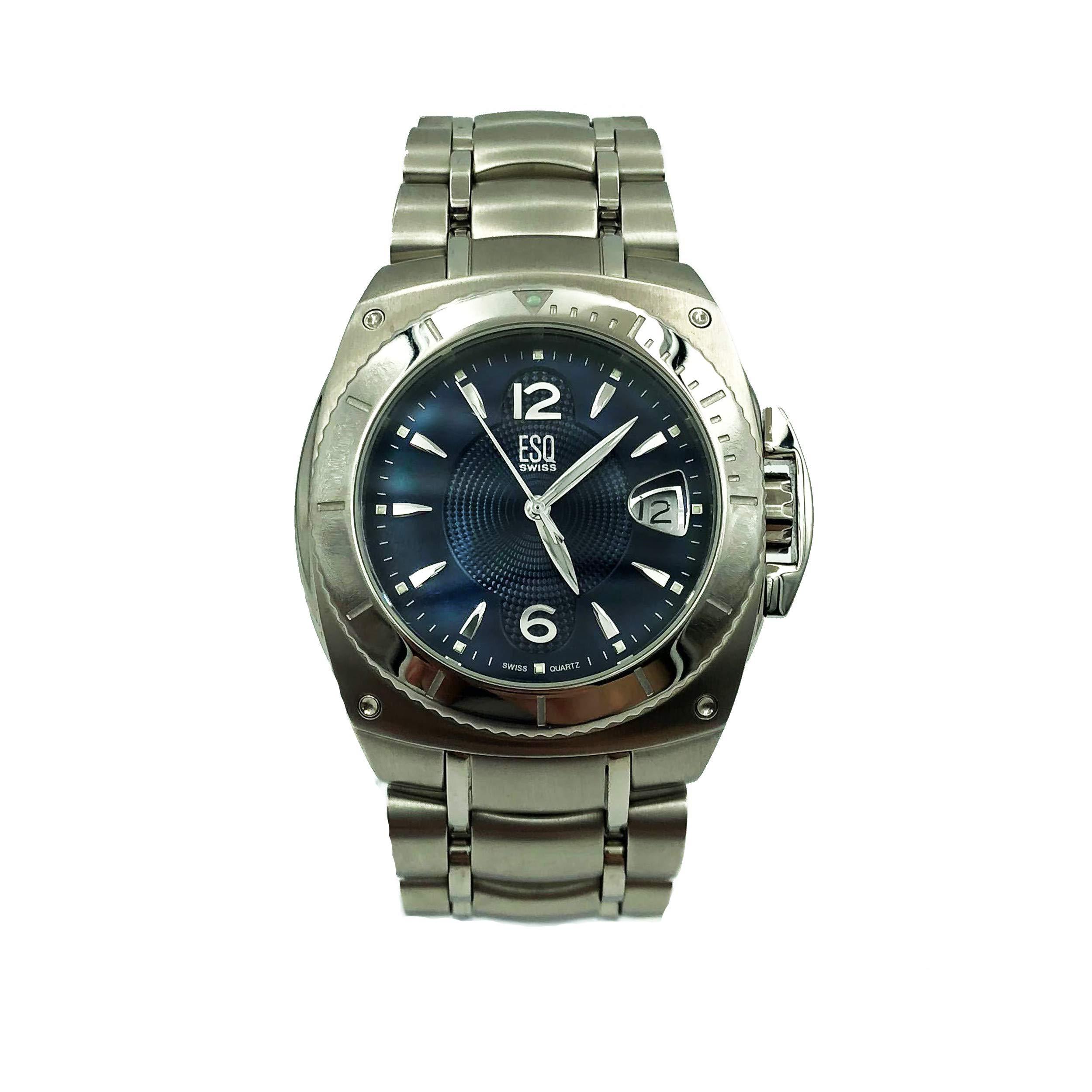ESQ Bracer Quartz Male Watch 07301045 (Certified Pre-Owned) by ESQ