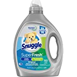 Snuggle Liquid Fabric Softener, SuperFresh Original, Eliminates Tough Odors, 150 Loads