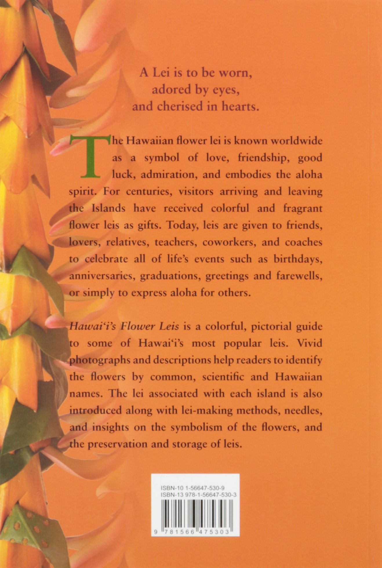 Hawaiis flower leis an identification guide laurie shimizu ide hawaiis flower leis an identification guide laurie shimizu ide 9781566475303 amazon books m4hsunfo