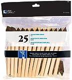 Loew-Cornell 842 25-Piece Foam Brush Set, 1-Inch