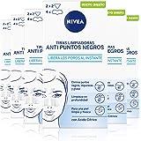 NIVEA Tiras Limpiadoras Anti Puntos Negros en pack de 6 (6x8 uds), limpiador de poros para eliminar puntos negros e…
